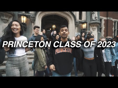 WELCOME PRINCETON CLASS OF 2023