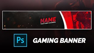 PUBG GAMING BANNER TEMPLATE | 2020 | FREE PSD | PHOTOSHOP