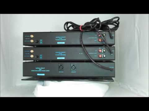 Musical Fidelity P180 Power Amplifiers & CRPS