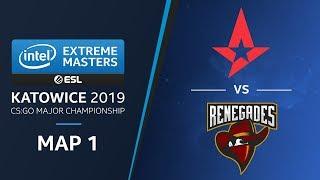 CS:GO - Astralis vs. Renegades [Mirage] Map1 Ro3 - Legends Stage - IEM Katowice 2019
