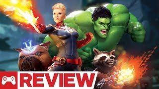 Marvel Powers United VR Review (Video Game Video Review)