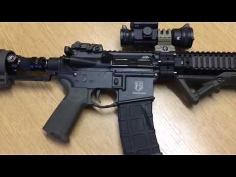 Tiberius Arms T15 First Strike My Custom Built Rifle
