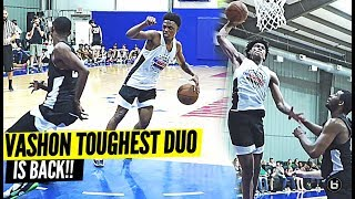 VASHON TOUGHEST DUO IS BACK!! CAM'RON FLETCHER & PHIL RUSSELL GOES OFF AT BASKETBALL MOVEMENT CAMP!