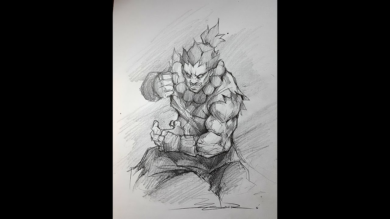 Speed Drawing - Akuma