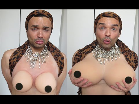 SILICONE BREAST FORMS FOR CROSS DRESSER TRANSGENDER AND DRAG QUEEN