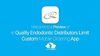 Quality Endodontic Distributors Limited - Mobile App Preview - QUA690W