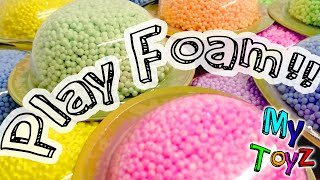 Play Foam Party Pack - Squishy, squashy, shaping fun! Unboxing and Play