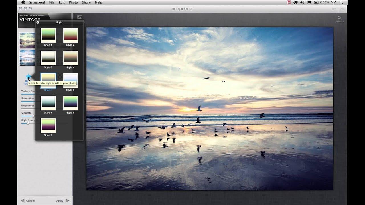 snapseed desktop version