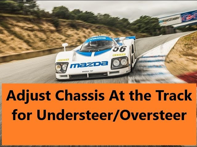 Simple Chassis Adjustments to Correct for Understeer or Oversteer