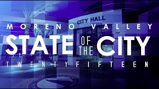 Gambar cover 2015 Moreno Valley State of the City Address
