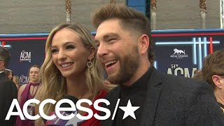Chris Lane Feels Like 'The Luckiest Guy In The World' Dating Lauren Bushnell: 'Look At Her!'