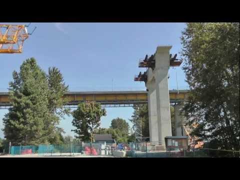 NEW PORT MANN BRIDGE WIDEST BRIDGE IN THE WORLD BRITISH COLUMBIA CANADA AUG 19 2011 BY BCNEWSVIDEO