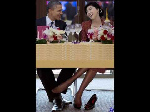 PHOTO ONLY- JUST FOR FUN - President-Obama-and-Thai-Prime-Minister-Yingluck-Shinawatra