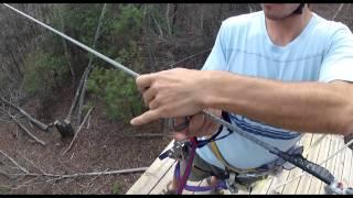 Ocoee Zipline Canopy Tour Adventure Spring 2012