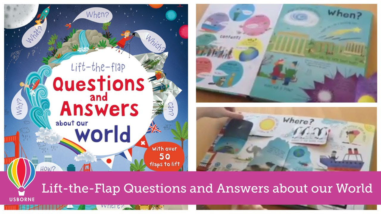 lift the flap questions and answers about our world lift the flap questions and answers about our world