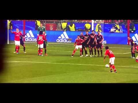 Talisca Free Kick Goal VS Bayern Munich