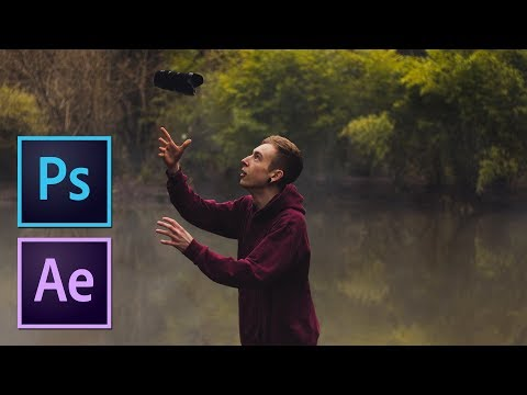 BRING YOUR PHOTOS TO LIFE Using 2.5D Parallax Animation | Photoshop & After Effects Tutorial