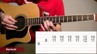 Cancion del mariachi chords