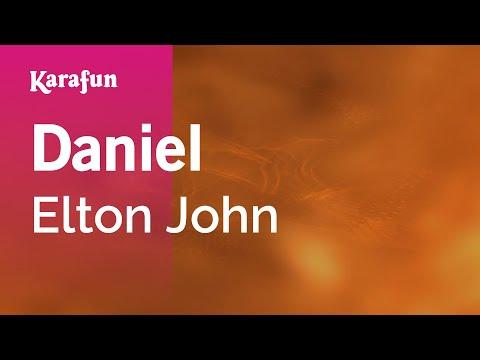 Karaoke Daniel - Elton John *