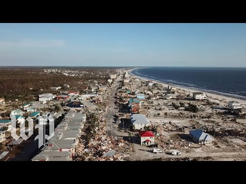 Its like the end of the world: Hurricane Michael leaves a town in ruins