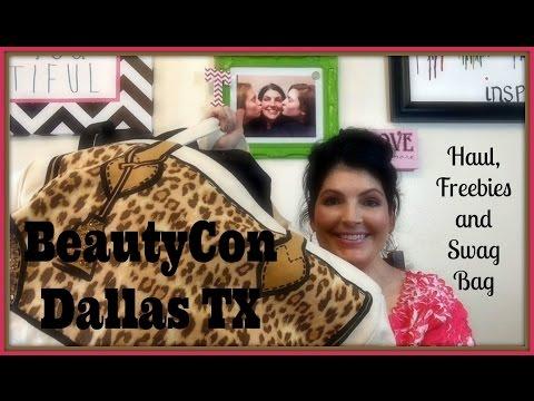 BeautyCon Dallas Texas and Swag Bag March 2015