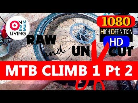 MTB INNERTUBE PATCHING Mountain CLIMB #1 Pt 2 RAW Paphos Forest CYPRUS GoPro Hero4 Feiyu-Tech Gimbal