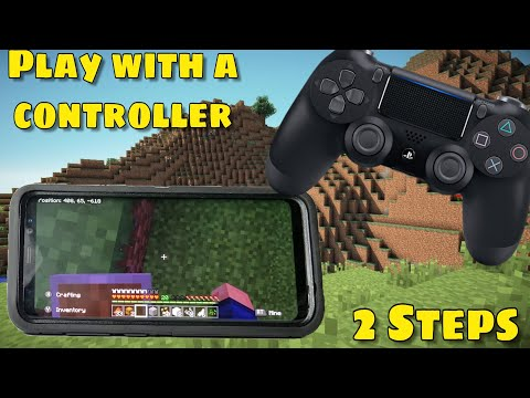 How To Play Minecraft With A Ps4 Controller (Android)