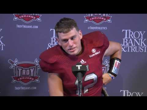 Troy Football Press Conference - Brandon Silvers; Austin Peay Postgame Press Conference