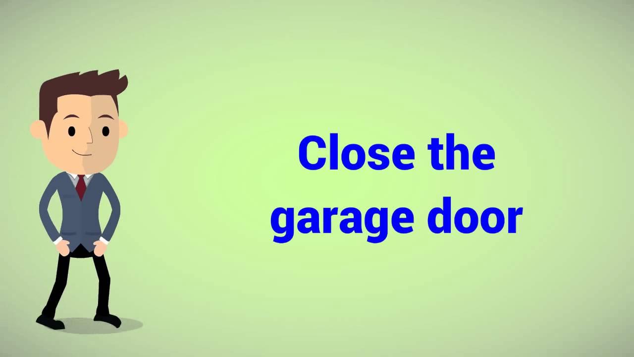 How To Balance Test A Garage Door Youtube