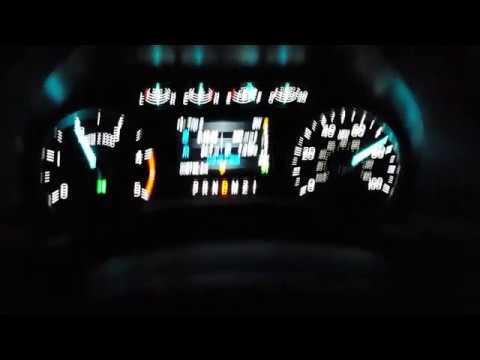 Расход топлива Ford F350 с прицепом и грузом, при различных скоростных режимах.