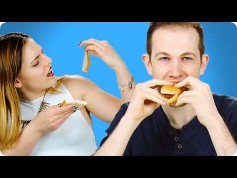 Irish People Try Vegan Food (Milk, Turkey, Gummy Bears, ...)