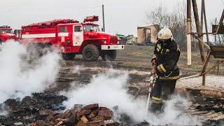Чудовищный пожар в Омске. Дотла сгорело полдеревни