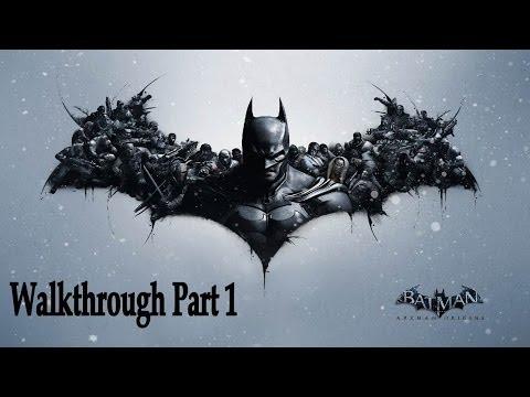 Batman Arkham Origins Walkthrough part 1