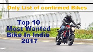Top 10 upcoming Sports bike in India 2017 with Price ✓