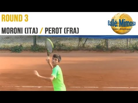 MORONI (ITA) vs PEROT (FRA) 3rd Round - Center court