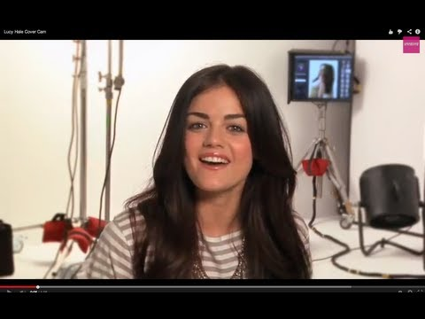 Lucy Hale Seventeen Cover Cam