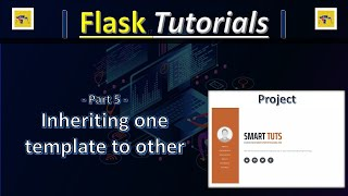 Part5 - Template Inheritance - Creating Your Portfolio Website With Flask - Flask Tutorials