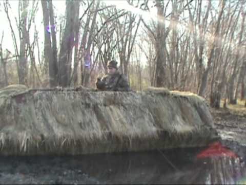 Duck Hunting Boat Blind Over Head Cover Tips Youtube