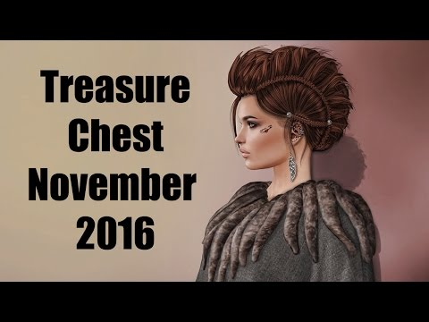 Treasure Chest - November 2016 - Unboxing Video - Second Life Fantasy Subscription Box