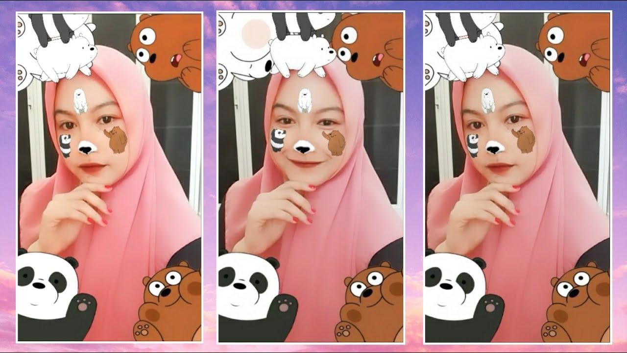 Cara Mendapatkan Filter Panda Instagram Filter We Bare Bears Youtube