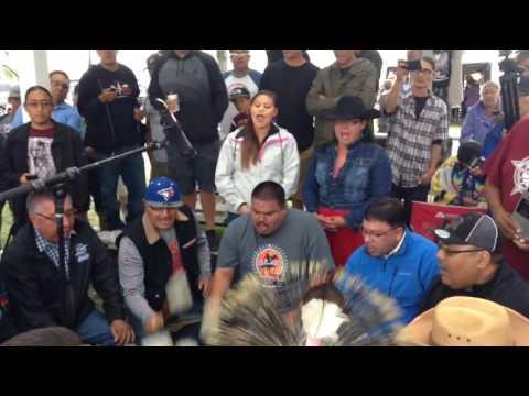 Blackfoot Confederacy @ Rockyboy Powwow 2016