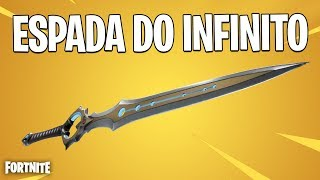FORTNITE - CONFERINDO A NOVA ESPADA DO INFINITO !!