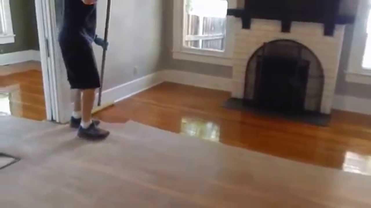 Wood floor refinishing recoating phoenix arizona youtube for Hardwood floors phoenix