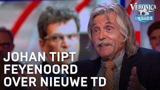 Johan Derksen tipt Feyenoord over technische directeur: 'Ted van Leeuwen heeft het bewezen'