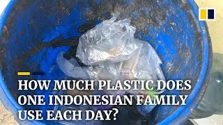 Indonesia is drowning in plastic waste