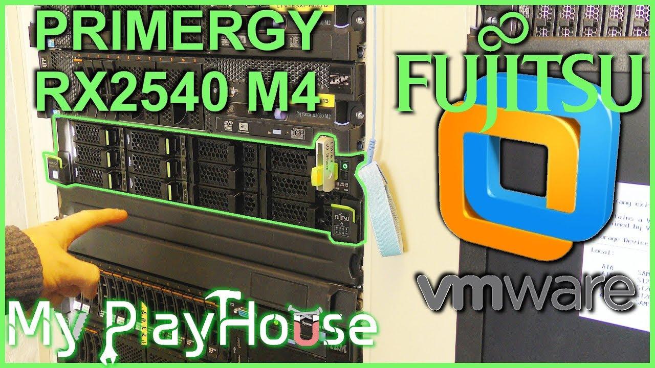 Fujitsu PRIMERGY RX2540 M4 - Hypervisor Host ESXi 6 7 - 775