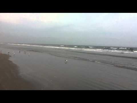 Daytona Beach and the Atlantic Ocean