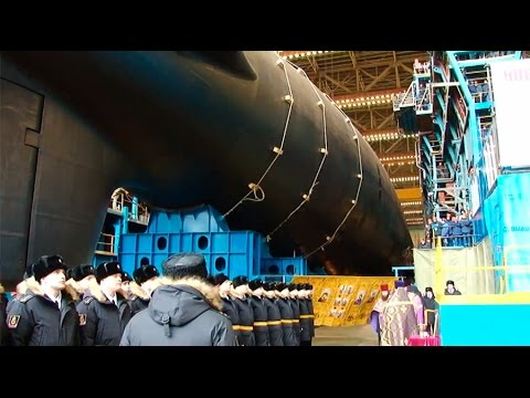"Russia's Most Powerful Nuclear Attack Submarine Ever ""Kazan"" Launched"