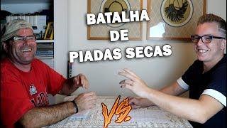 BATALHA De Piadas Secas #1 - BITZ Vs PAI !