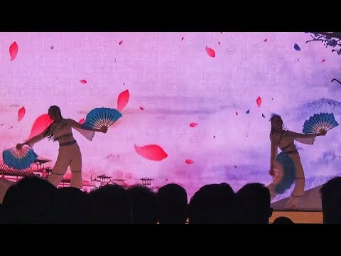 CHINESE DANCE PERFORMANCE INDONESIA